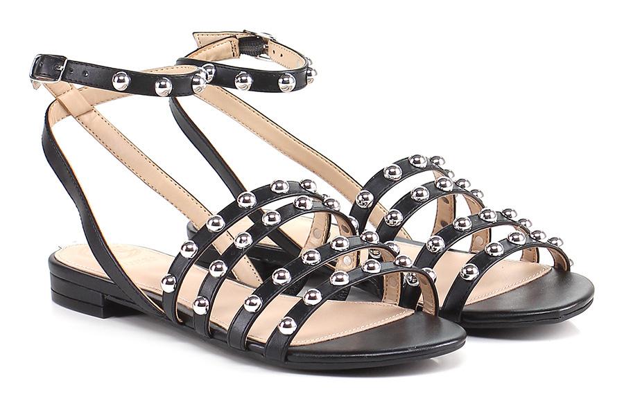 Sandalo basso Black Guess Verschleißfeste billige Schuhe
