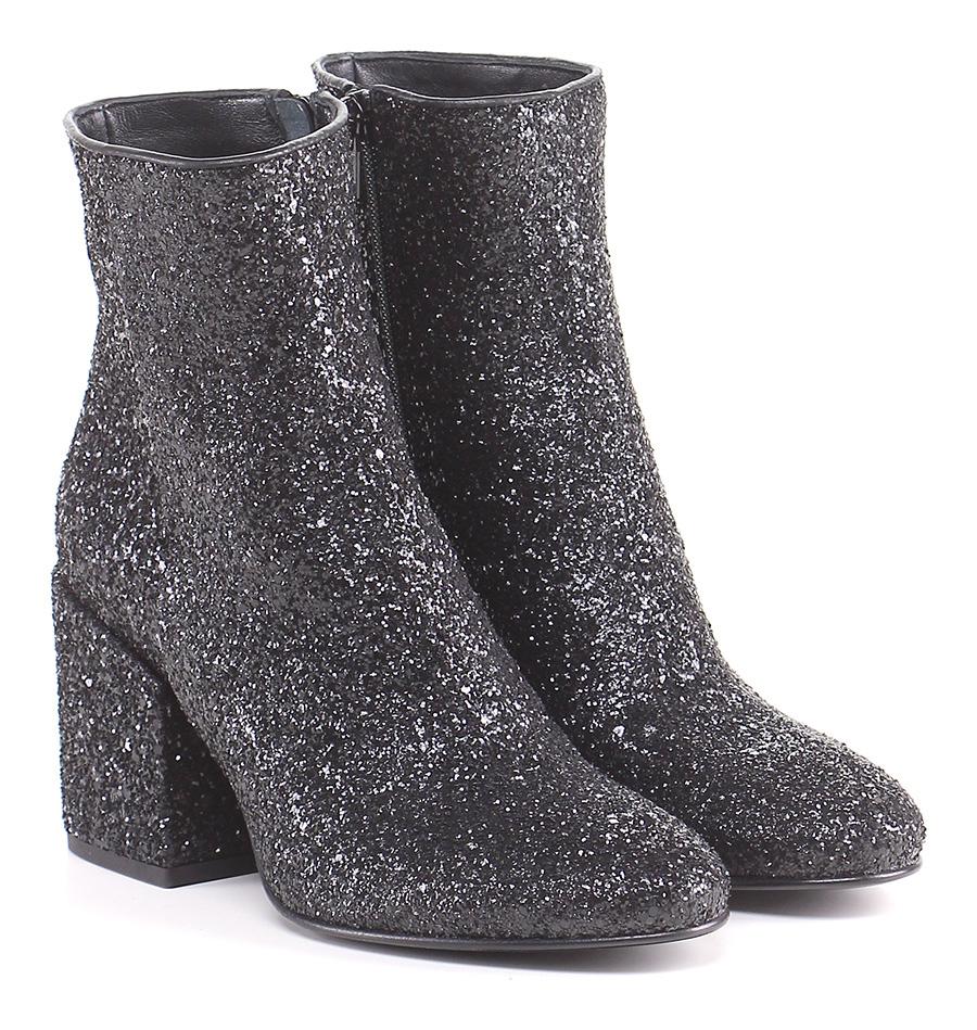 Tronchetto donna strategia Nero Strategia Mode billige Schuhe