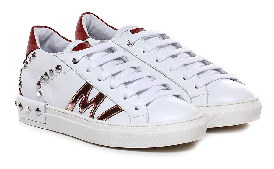 Sneaker Bianco/mattone/rame Manila Grace Mode billige Schuhe