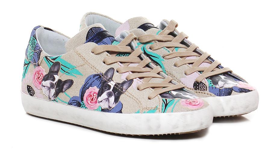 Sneaker Sand/multicolor Philippe Model Paris