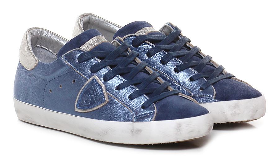 Sneaker Sky/blue/silver Philippe Model Paris