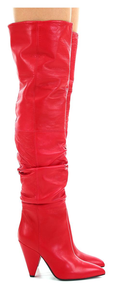 Stivale Rosso Giampaolo Viozzi Verschleißfeste billige Schuhe