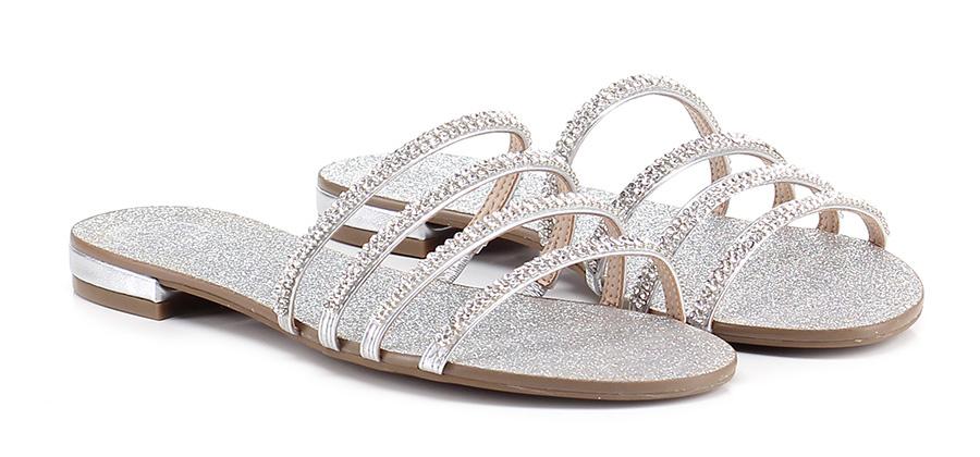 Sandalo billige basso Silver Guess Mode billige Sandalo Schuhe d92cd7