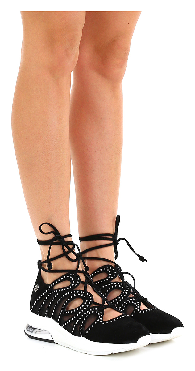 Sneaker Bianco/argento/tortora Liu.jo Verschleißfeste billige Schuhe