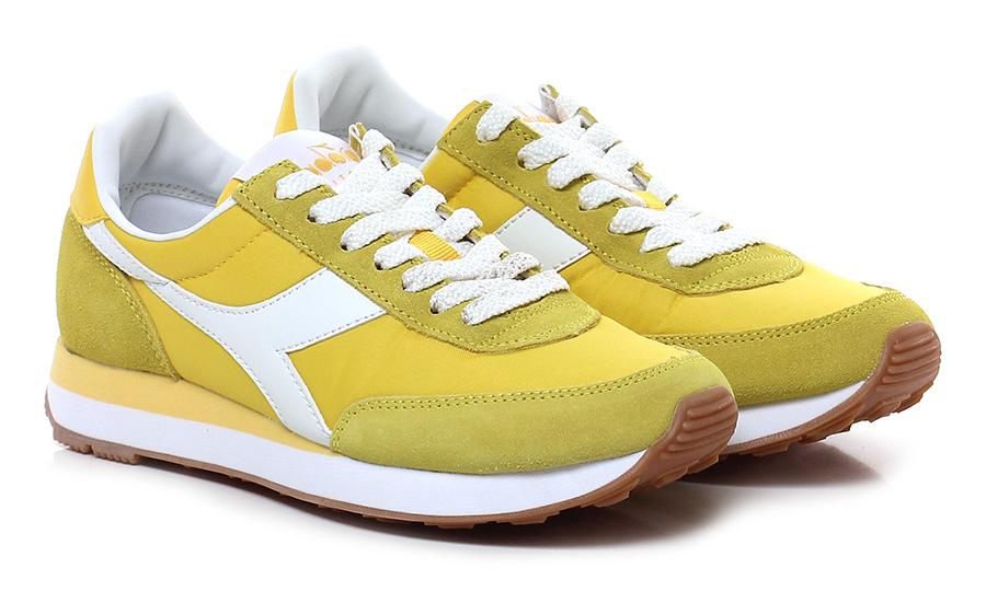 Sneaker Yellow Diadora Heritage Mode billige Schuhe