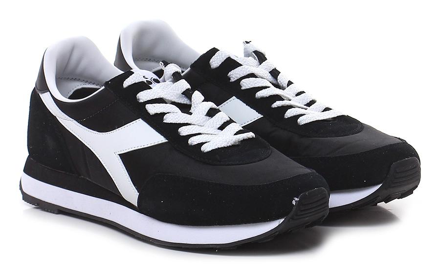 Sneaker Black Diadora Heritage Verschleißfeste billige Schuhe