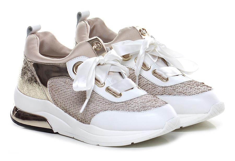 Sneaker Platino/bianco Liu.jo