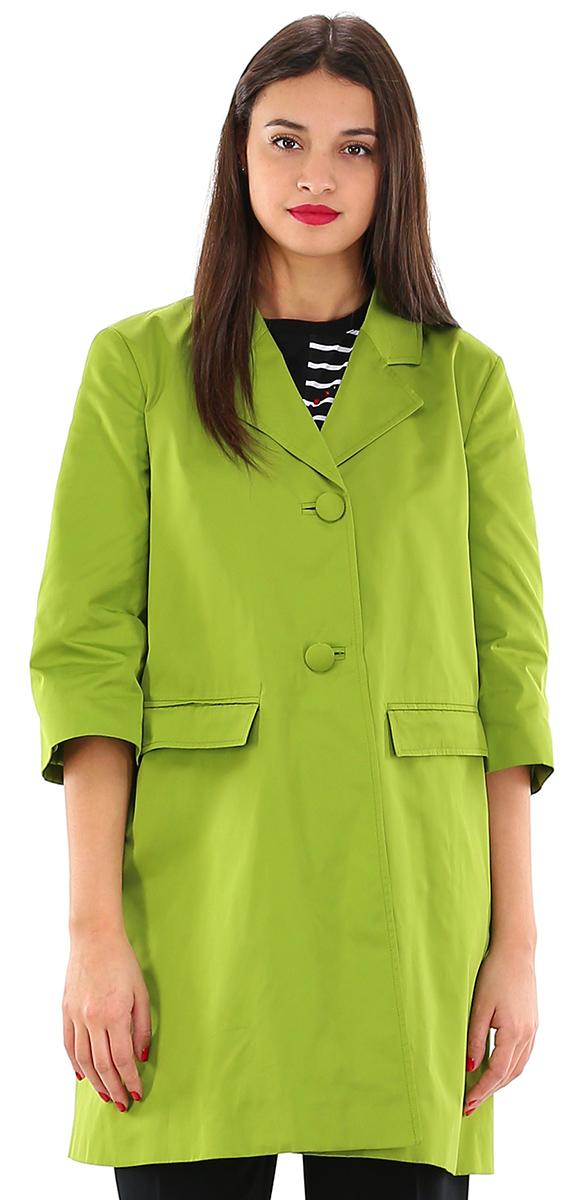 more photos ef8e7 d9f41 Cappotto Verde lime Twin SET - Le Follie Shop