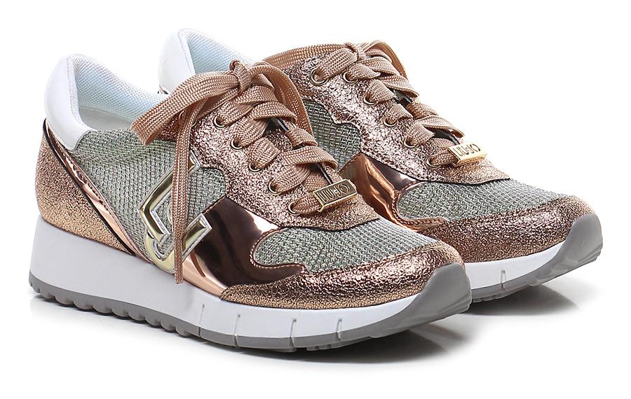 Sneaker Rame/verde/bianco Liu.jo