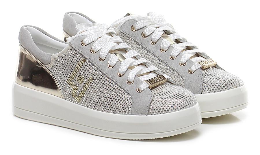 Sneaker Crema/ice Liu.jo Verschleißfeste billige billige Verschleißfeste Schuhe e36aaa