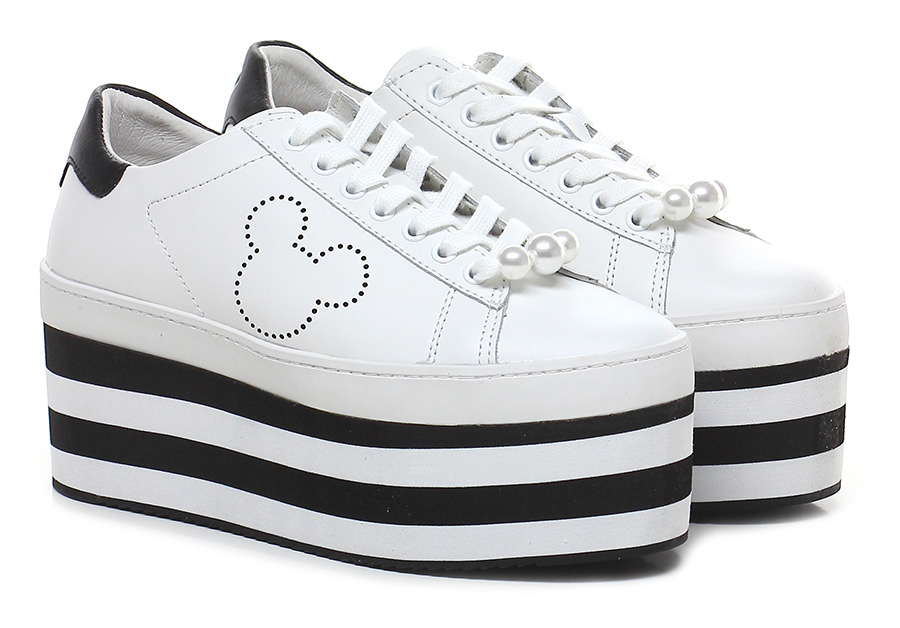 Sneaker Bianco/nero Moa Master Of Arts