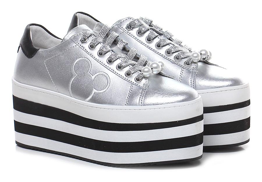 Sneaker Argento Moa Master Of Arts