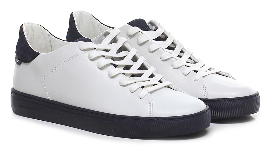 Sneaker White/navy Crime Verschleißfeste billige Schuhe