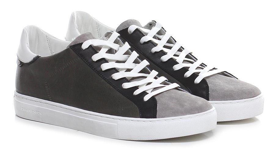 Sneaker Green/grey/black Green/grey/black Sneaker Crime Mode billige Schuhe e5b00c