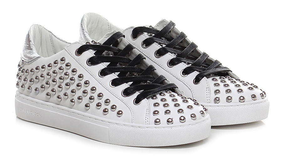 Sneaker Ivory/silver Crime Verschleißfeste billige Schuhe