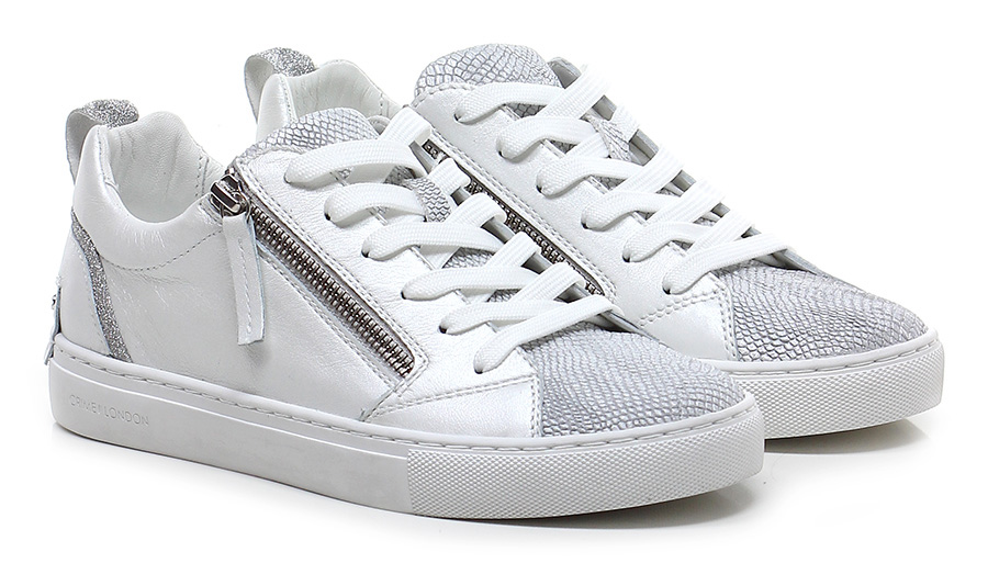 Sneaker Ivory/grey Crime Mode billige Schuhe