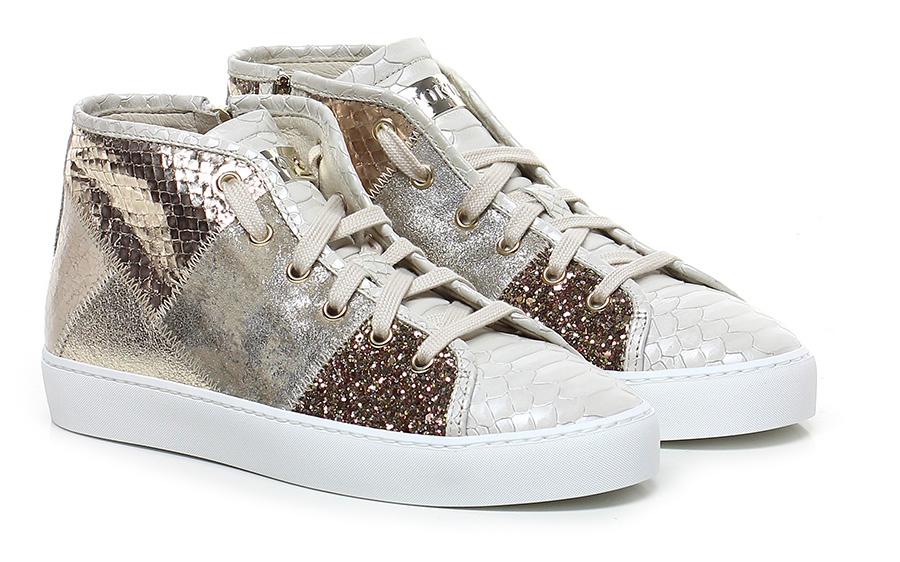 Sneaker Platino/avorio Stokton Verschleißfeste billige Schuhe