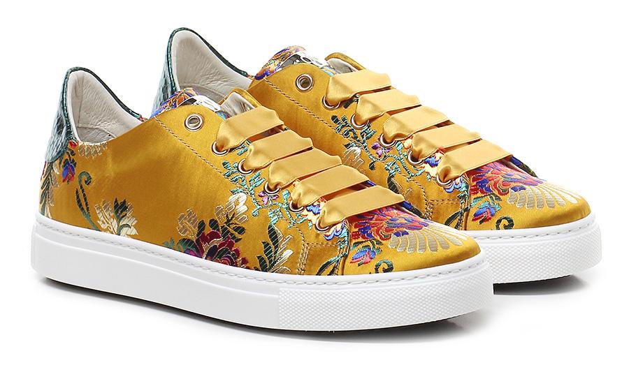 Sneaker Giallo/multicolor Stokton Verschleißfeste billige Schuhe