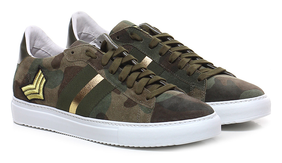 Sneaker Oliva/mimetico Stokton Verschleißfeste billige Schuhe