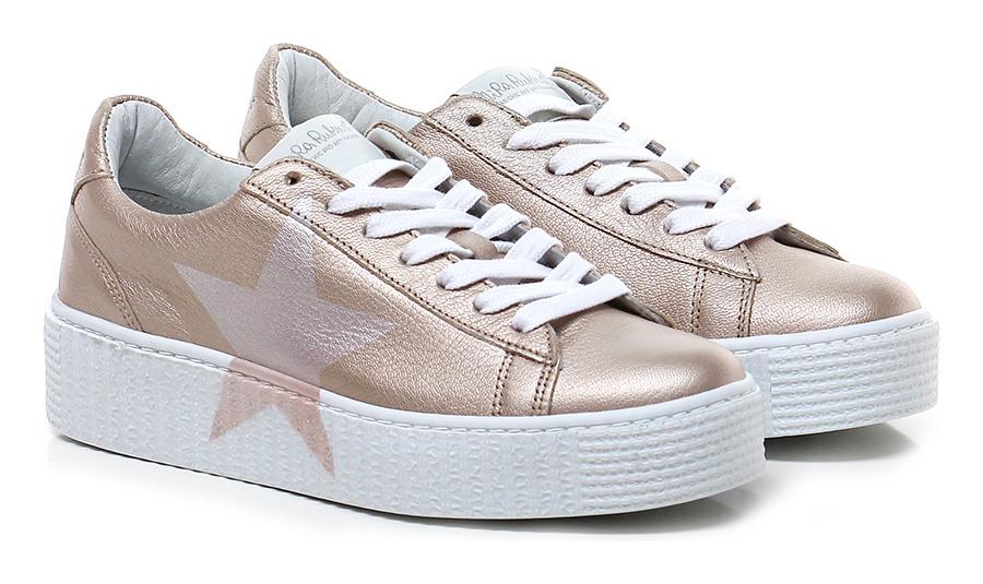 Sneaker Ottone/rosa Nira Rubens Verschleißfeste billige Schuhe