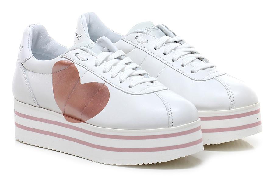 Sneaker Bianco/cipria Nira Rubens Scarpe economiche e buone