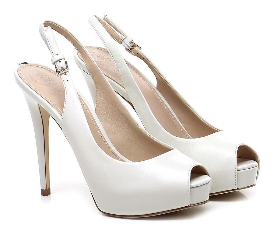 Sandalo alto  Cream Cream Cream Guess 563490