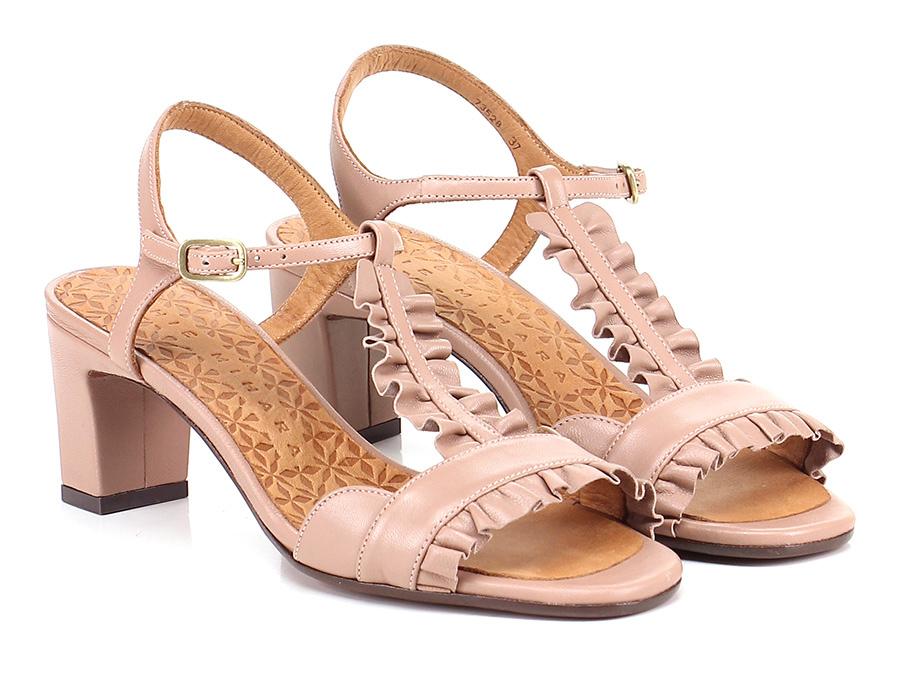 Sandalo basso Carne Chie Mihara