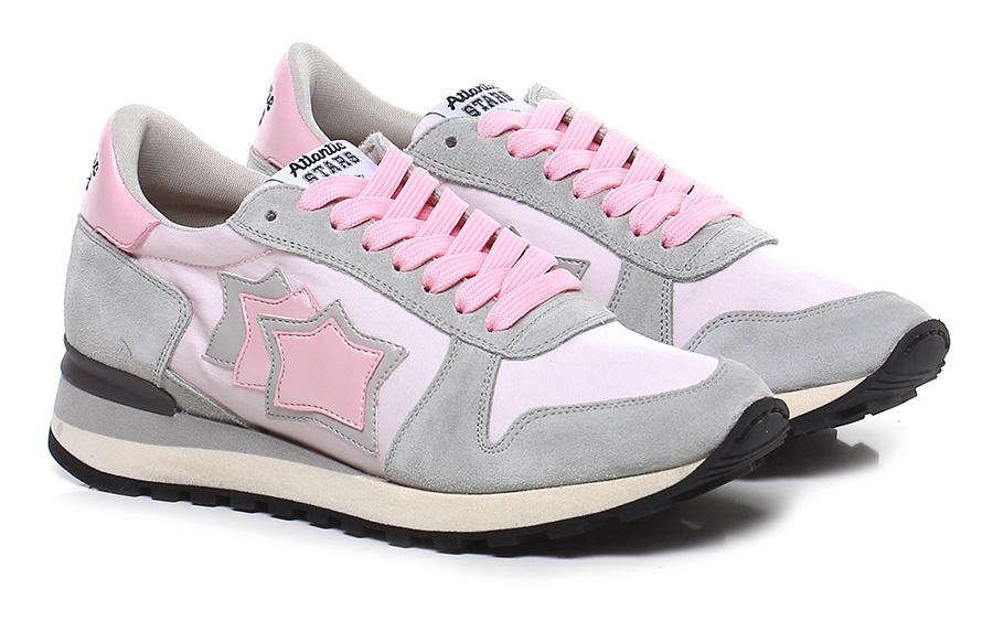 Sneaker Grey/pink Atlantic Stars Verschleißfeste billige Schuhe