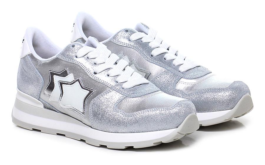 Sneaker Silver/white Atlantic Stars billige Mode billige Stars Schuhe 235423