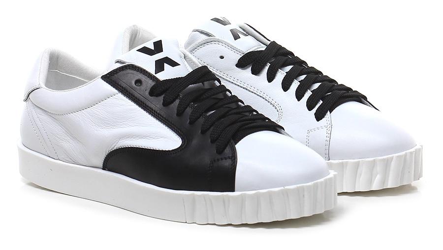 Sneaker White/black OXS Verschleißfeste billige Schuhe