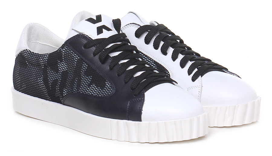 Sneaker White/blue OXS Verschleißfeste billige Schuhe