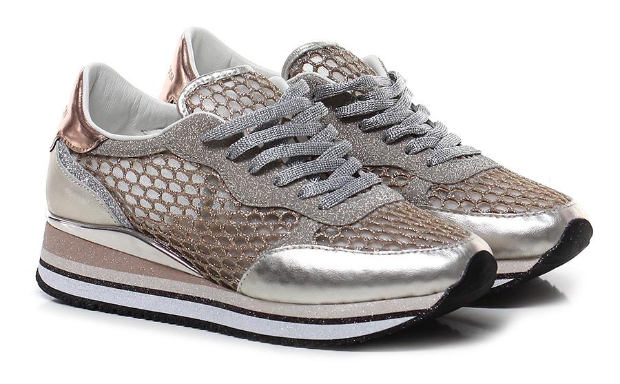 Sneaker Platinum/copper Crime Verschleißfeste billige Schuhe