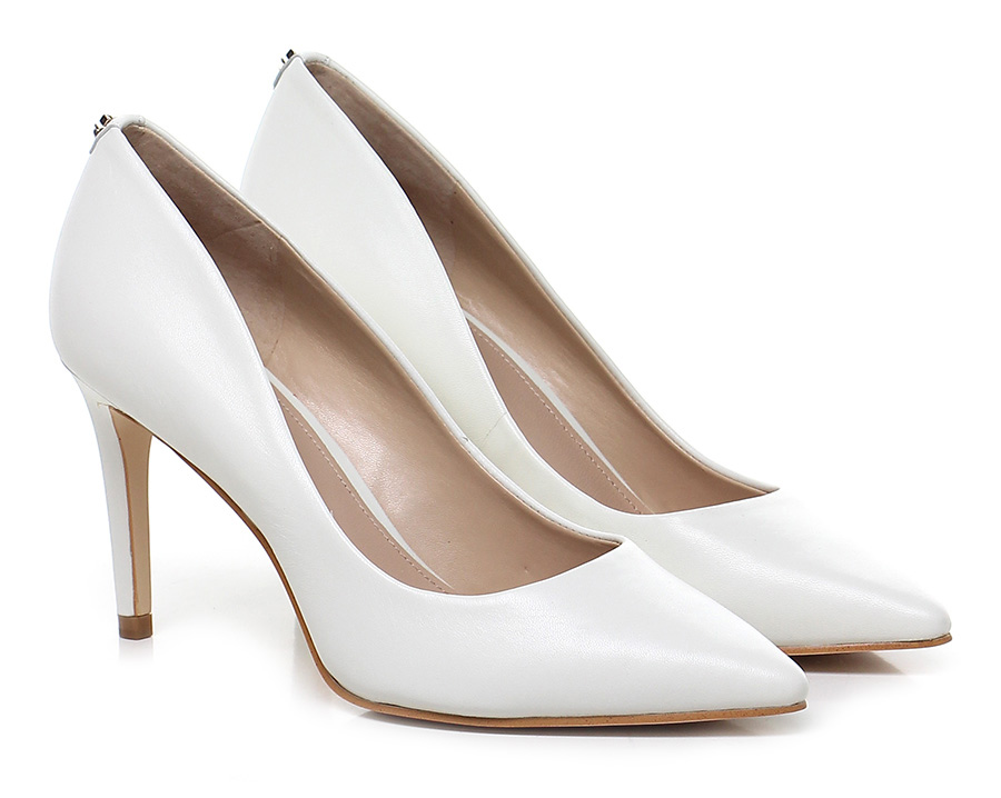 Decolletè Cream Guess Mode billige Schuhe