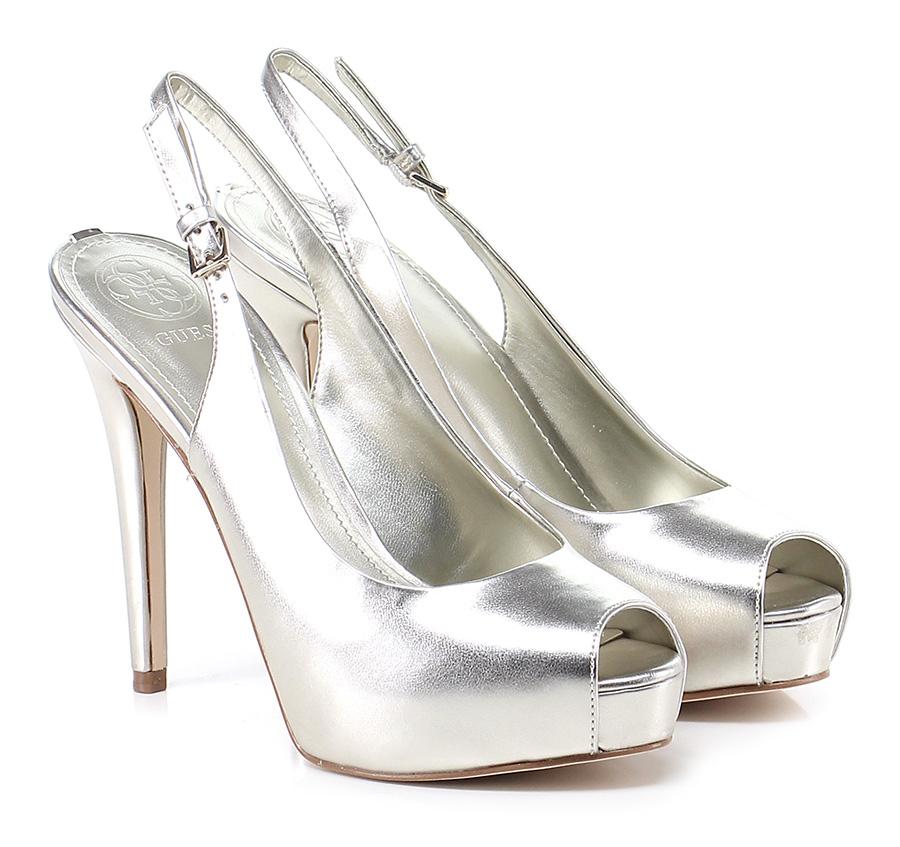 Sandalo alto    Silver Guess Mode billige Schuhe 06b382