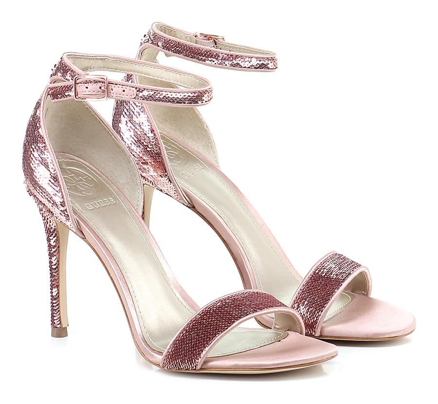 Sandalo alto  Pink Guess
