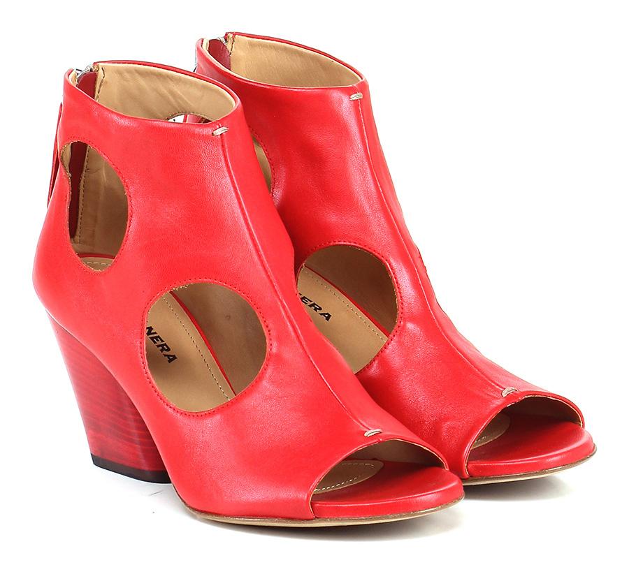 Tronchetto Rosso Halmanera Verschleißfeste billige Schuhe
