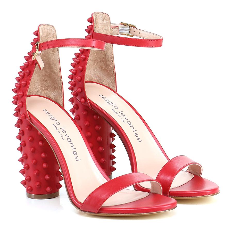 Sandalo alto Rosso Sergio Levantesi