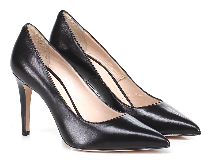 Decolletè Nero Festa Milano Mode billige Schuhe