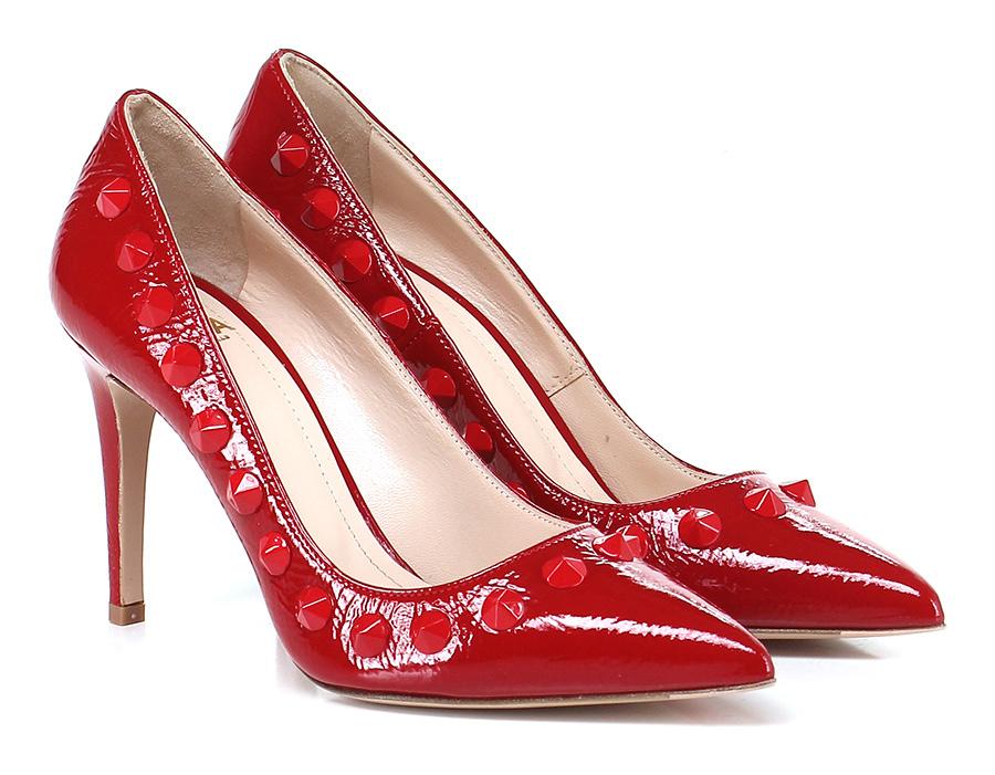 Decolletè Rosso Festa Milano Verschleißfeste billige Schuhe