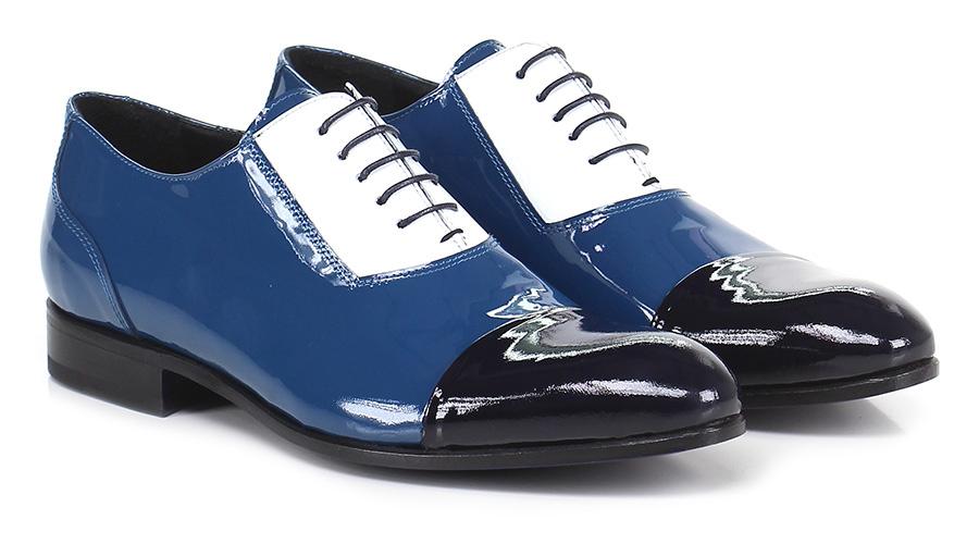 Stringata Azzurro\bianco\nero Beverly Hills Scarpe economiche e buone