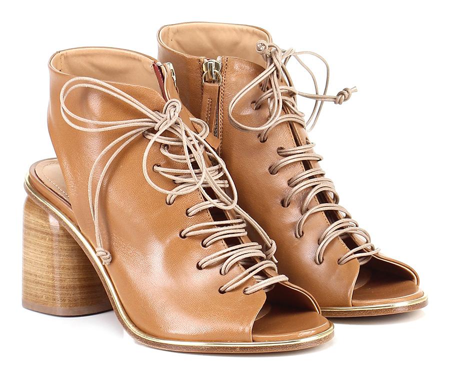 Sandalo alto  Cuoio Halmanera Scarpe economiche e buone