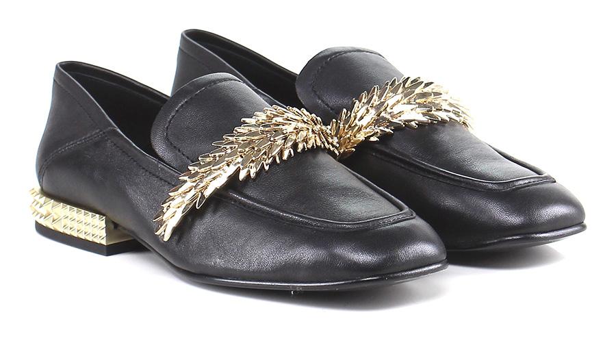 Scarpa bassa Black\gold ASH Verschleißfeste billige Schuhe