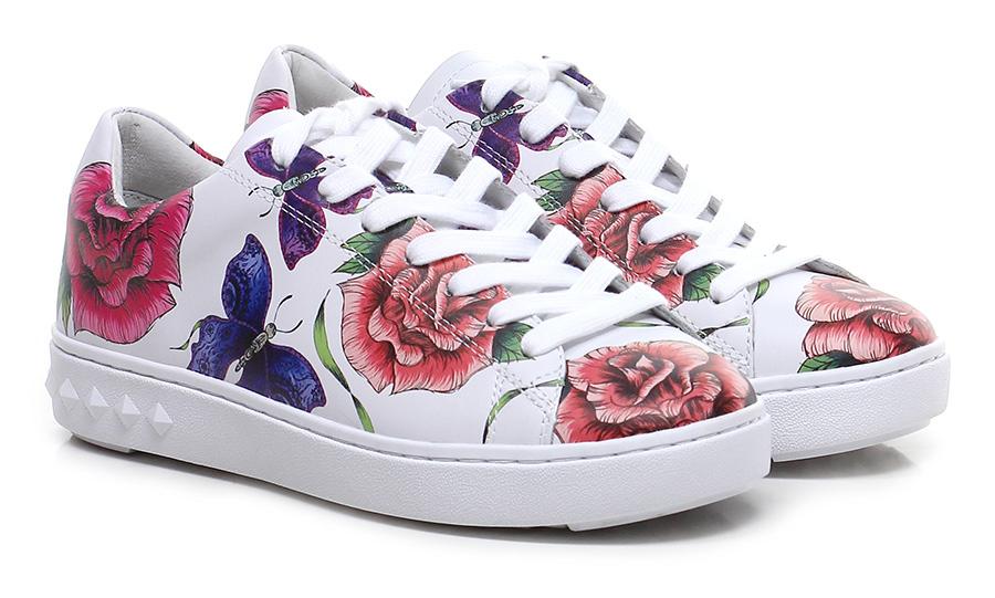 Sneaker White\multicolor ASH Verschleißfeste billige Schuhe
