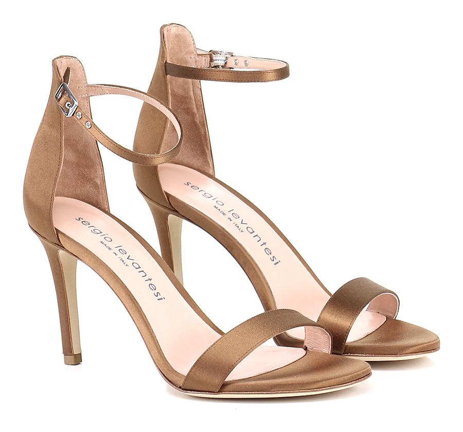 Sandalo alto Brown Sergio Levantesi Hohe Qualität