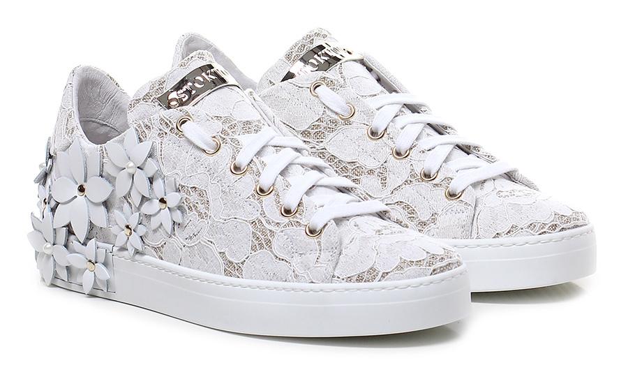 Sneaker Bianco Stokton Mode billige Schuhe