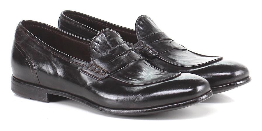 Mocassino Ebano Lemargo Mode billige Schuhe