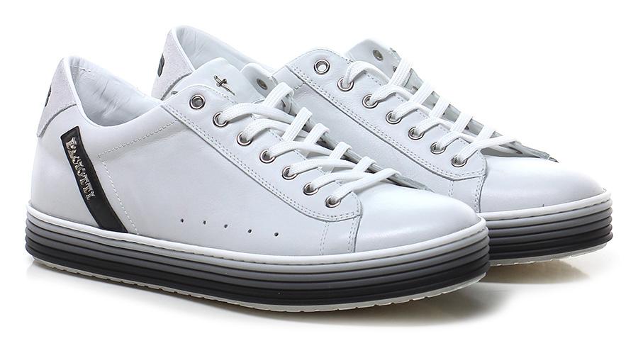 Sneaker White/black Paciotti 4US