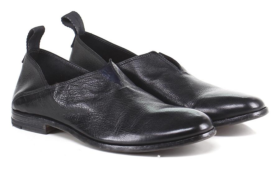 Senza stringhe Nero billige Moma Mode billige Nero Schuhe 42ce00