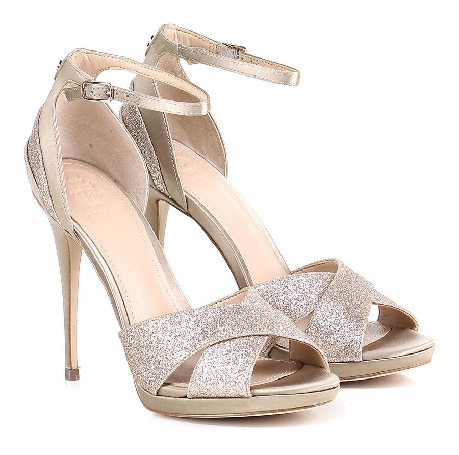 Sandalo alto  Beige Guess Scarpe economiche e buone
