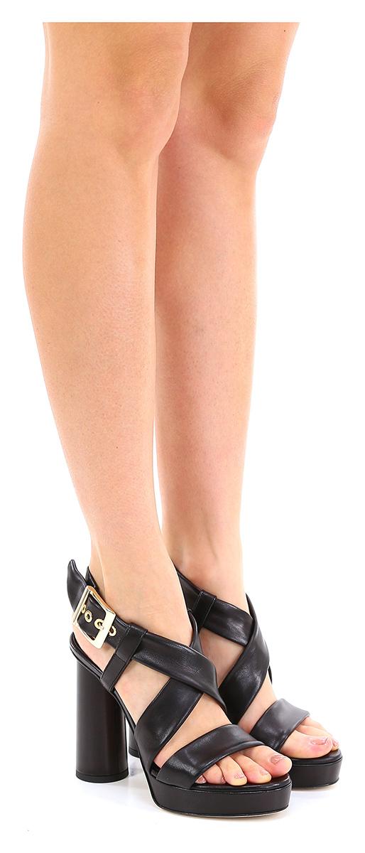 Sandalo alto Nero Giampaolo Giampaolo Giampaolo Viozzi c066f1